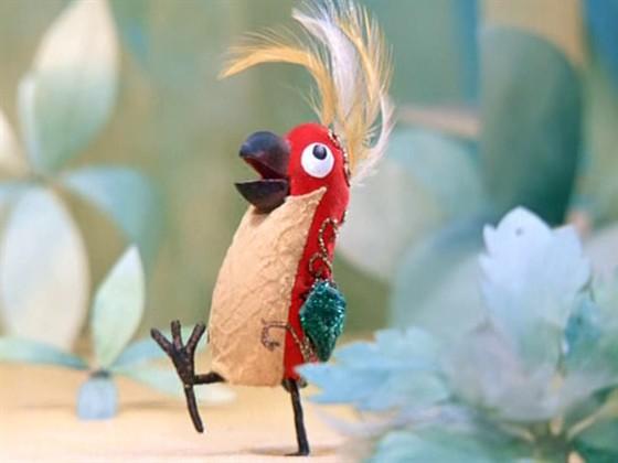 вышивка крестом схемы попугай